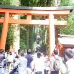 <箱根神社>